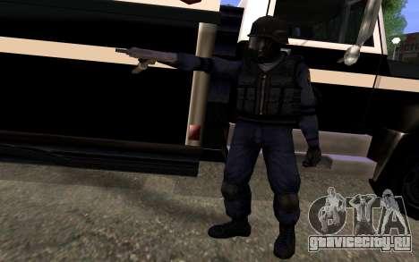 SWAT из Manhunt 2 для GTA San Andreas