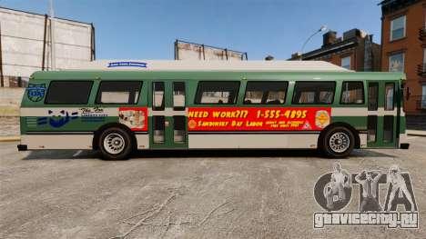 Реальная реклама на такси и автобусах для GTA 4 второй скриншот