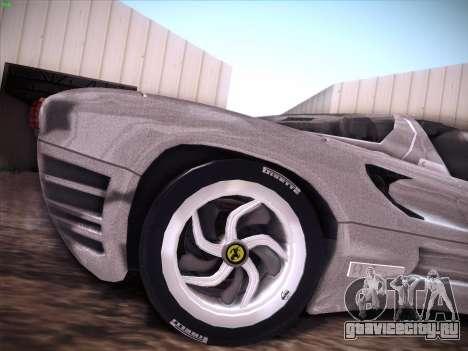 Ferrari P7 Chromo для GTA San Andreas салон