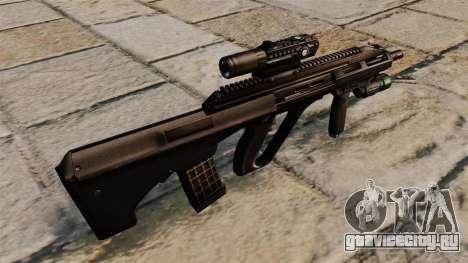 Автоматическая винтовка Steyr AUG A3 для GTA 4 второй скриншот