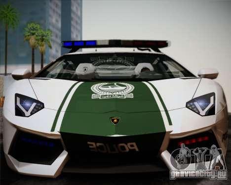 Lamborghini Aventador LP700-4 2012 RCPD V1.0 для GTA San Andreas вид слева
