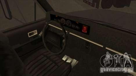 Yankee HD from GTA 3 для GTA San Andreas вид сзади