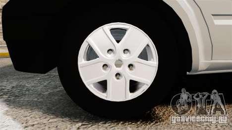 Ford Transit 2013 для GTA 4 вид сзади