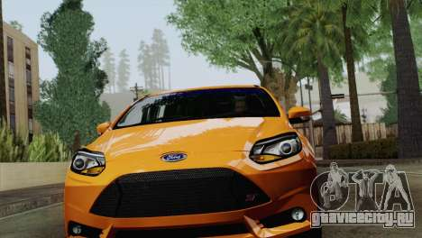 Ford Focus ST 2013 для GTA San Andreas вид слева