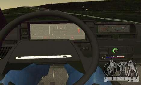 ВАЗ 2108 Aarr Style для GTA San Andreas вид сбоку