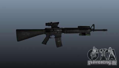 Штурмовая винтовка M16A4 ACOG для GTA 4 третий скриншот