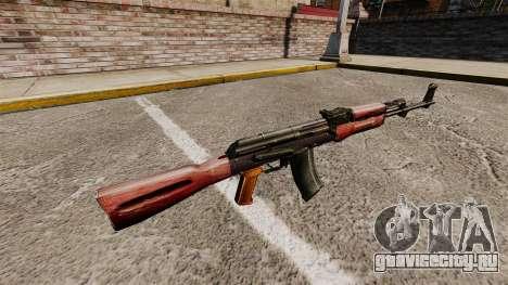 Автомат AK-47 v2 для GTA 4 второй скриншот
