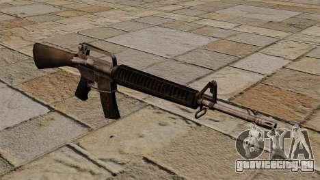 Штурмовая винтовка M16A2 для GTA 4