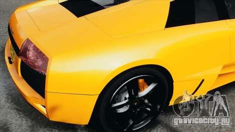 Lamborghini Murcielago LP640 2007 [EPM] для GTA 4 вид сзади