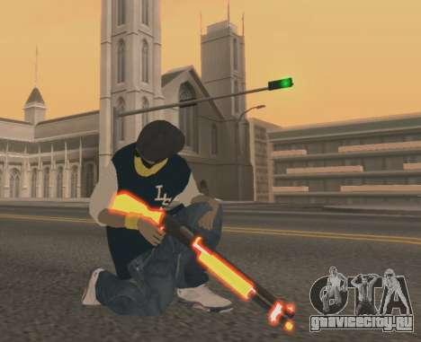 Vagos Gun Pack для GTA San Andreas третий скриншот