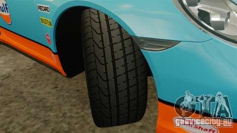 Porsche 911 Turbo 2014 [EPM] Gulf для GTA 4 вид сбоку