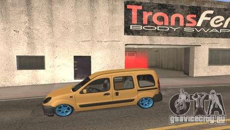 Renault Kangoo 2005 v1.0 TMC для GTA San Andreas вид слева