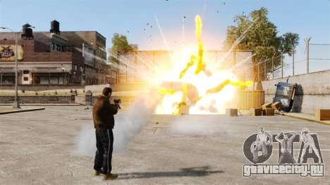 Стрельба ракетами для GTA 4 шестой скриншот