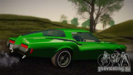 Buick Riviera 1972 Carbine Version для GTA San Andreas вид сзади слева