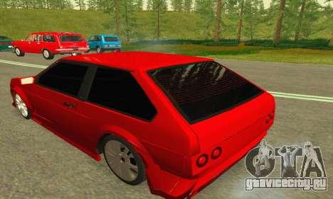 ВАЗ 2108 Aarr Style для GTA San Andreas вид справа