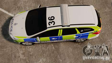 Ford Focus Estate Norfolk Constabulary [ELS] для GTA 4 вид справа