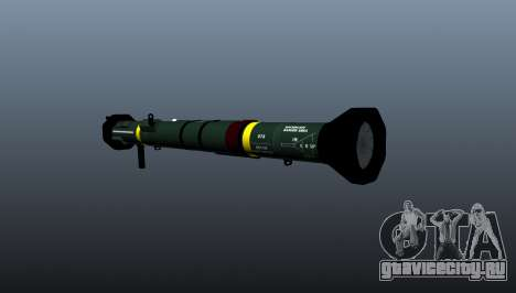 Противотанковый гранатомёт AT4 CS HP для GTA 4 второй скриншот