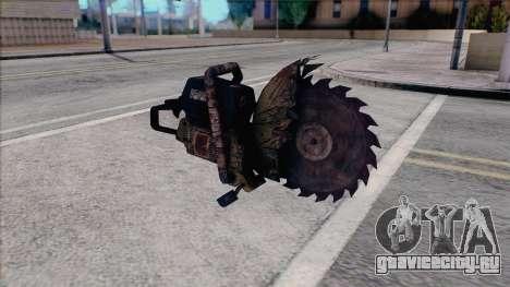 Бензопила из Silent Hill Home Coming для GTA San Andreas