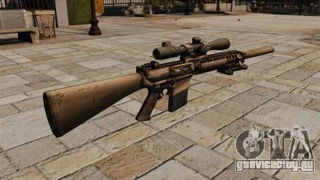 Снайперская винтовка M110 для GTA 4 второй скриншот