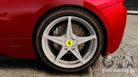 Ferrari 458 Italia 2010 Novitec для GTA 4 вид справа
