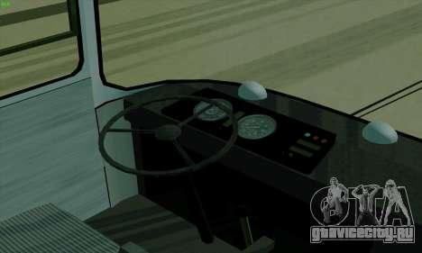 ЛАЗ 699Р для GTA San Andreas вид сзади