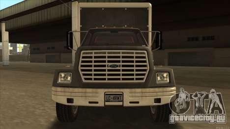 Yankee HD from GTA 3 для GTA San Andreas вид слева