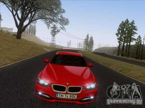 BMW 3 Touring F31 2013 для GTA San Andreas вид справа