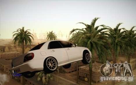 Заморозить машину в воздухе для GTA San Andreas