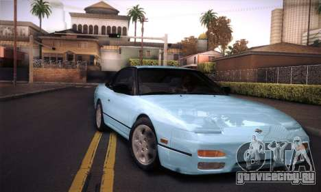 Nissan 240SX 1991 Tunnable для GTA San Andreas вид сверху