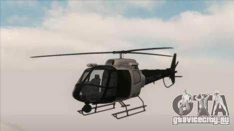 Police Maverick from GTA V для GTA San Andreas вид слева