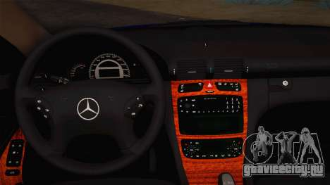 Mercedes-Benz C320 Elegance 2004 для GTA San Andreas вид изнутри