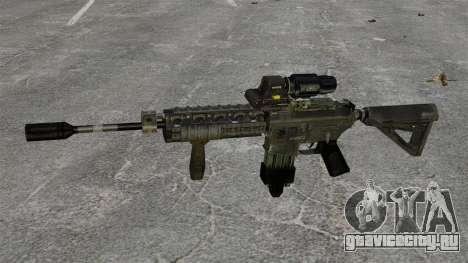 Автомат M4 Hybrid Scope для GTA 4 третий скриншот