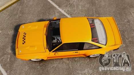 Opel Manta для GTA 4 вид справа