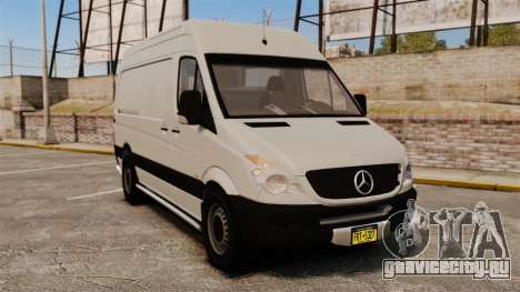 Mercedes-Benz Sprinter 2500 Delivery Van 2011 для GTA 4