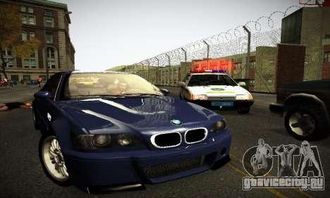 BMW E46 M3 CSL для GTA San Andreas