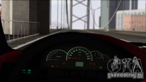 ВАЗ 2112 Купе-Спорт для GTA San Andreas вид сзади