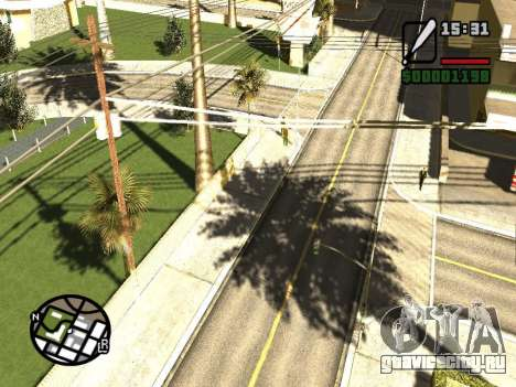 SA Render Public-Beta v0.1 для GTA San Andreas второй скриншот