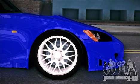 Honda S2000 для GTA San Andreas вид сверху