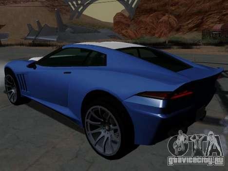 Coquette из GTA 5 для GTA San Andreas вид слева