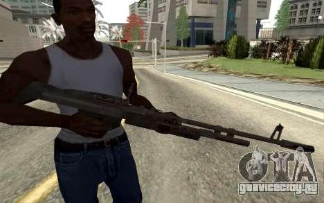 M60E4 для GTA San Andreas четвёртый скриншот