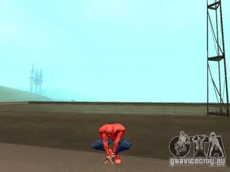 Присесть как человек-паук для GTA San Andreas третий скриншот