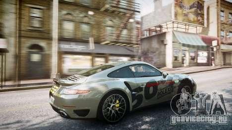 Porsche 911 Turbo 2014 для GTA 4 вид сверху