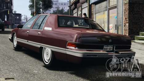 Buick Roadmaster 1996 для GTA 4 вид справа