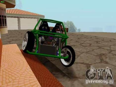 Nocturnal Motorsports Coyote для GTA San Andreas вид сзади