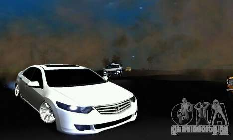 Honda Accord Tuning для GTA San Andreas вид слева