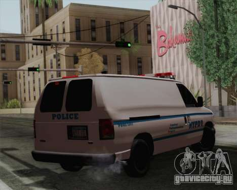 Ford F150 Police для GTA San Andreas вид слева