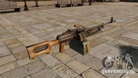 Пулемёт Калашникова для GTA 4 второй скриншот