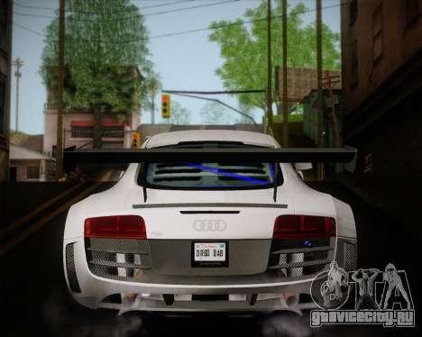 Audi R8 LMS Ultra v1.0.1 DR для GTA San Andreas вид справа