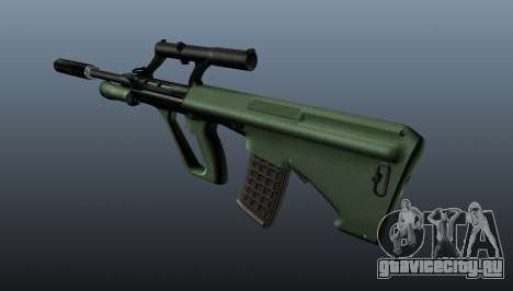 Автоматическая винтовка Steyr AUG для GTA 4 второй скриншот