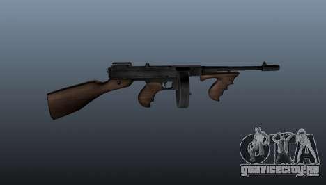 Пистолет-пулемёт Thompson M1928 для GTA 4 третий скриншот